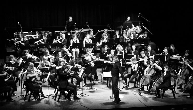 Le Pop Orchestra en concert dirigé par Didier Beloeil